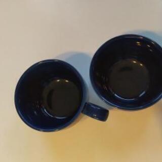美品 ニトリ オシャレなスープカップ