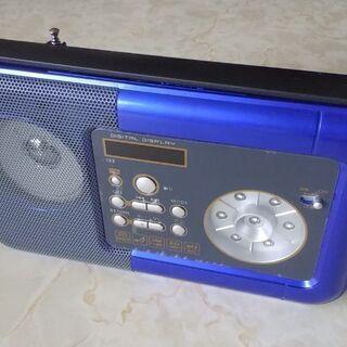 LEDライト&mp3プレーヤー搭載FMラジオ