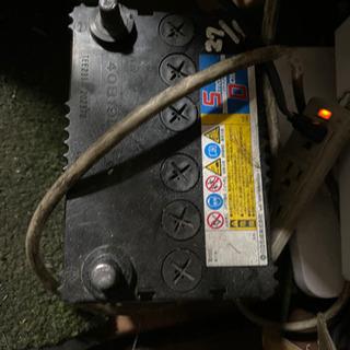 【譲ります】ジャンク品 バッテリー 鉄屑 引き取り可能な方