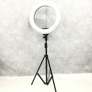 ☆動作美品 CRAPHY 2色LED 撮影用 リングライト…