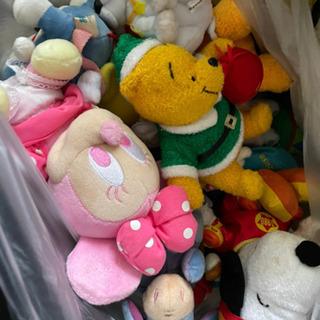 無料!!!45L袋いっぱいの人形 - 熊本市