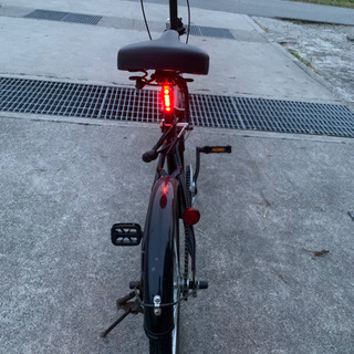 【ネット決済】【成約済み】降りたたみ自転車20インチ