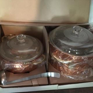 新品 2点セット 煮込み鍋
