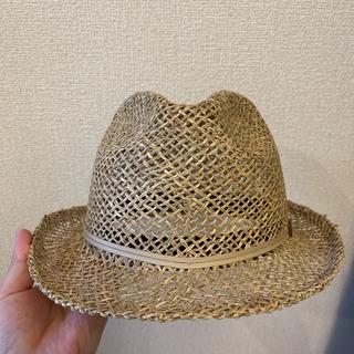 モンベル 麦わら帽子