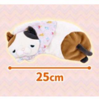 【新品】ねむねむアニマルズ 猫/アイス クールアイピロウ