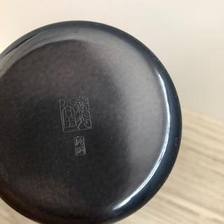 新光金属 純銅 黒銅仕上げ 真心 鎚目一輪挿し 手桶小 BC-1303 - 売ります・あげます