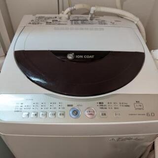 シャープ洗濯機(2011年製)