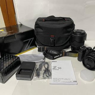Nikon Z50 ダブルズームキット その他付属