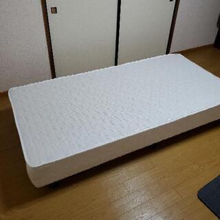 ベッドフレーム ダブルクッション シングルサイズ