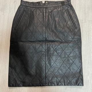 【美品】レザースカート