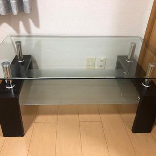 【ネット決済】ガラステーブル【5月23日まで限定】