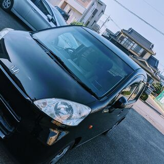 【ネット決済・配送可】軽自動車660ccホンダライフJB5 黒