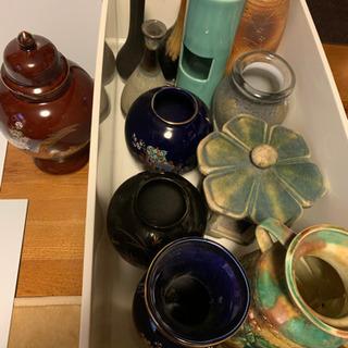 アンティーク花瓶、壺等まとめ売り12点❗️【中古】