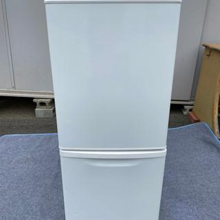 Panasonic NR-B146W ノンフロント冷凍冷蔵庫2ド...
