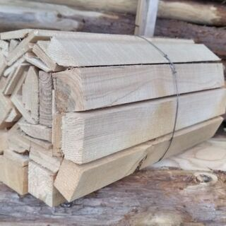 まき 小割薪(製材端材) 薪風呂や薪ストーブの焚き付け キャンプ...