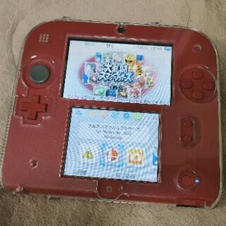 【ネット決済】Nintendo 2DS本体 美品 ソフト付
