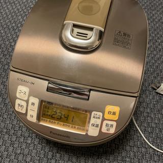【譲渡者決定】Panasonic 炊飯器