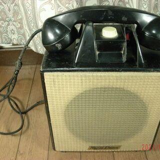 珍品📞📞NIPPON ELECTRIC 古い電話機❓オブジェ