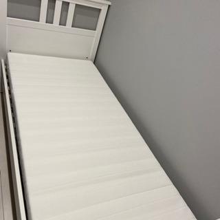 シングルベッド ホワイト 白