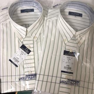 井口高校 メンズスクールシャツ  半袖Mサイズ 2枚セット トンボ