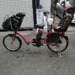 電動自転車 格安! パナソニック ギュットミニ 8ah ピンク系...