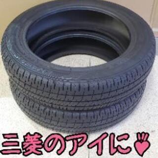 アイに工賃込み☆145/65R15フロントタイヤ用2本 超…