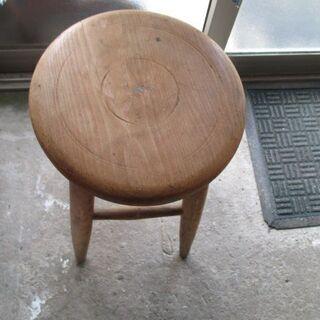 昭和レトロ 丸椅子