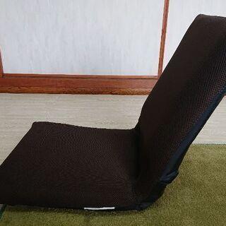 茶色の小さめ座椅子