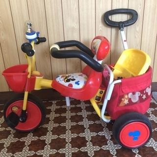 三輪車 持ち手つき 酒田市