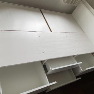 【決まりました】ニトリ 収納付きセミダブルベッド