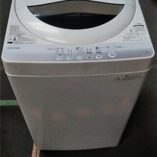 【ネット決済・配送可】全自動洗濯機(東芝ライフスタイル AW-5...