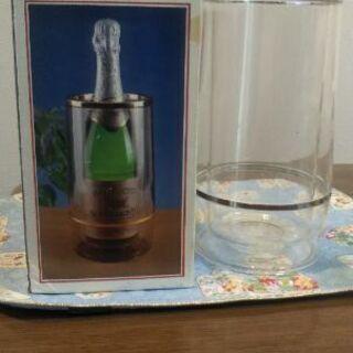ワインクーラー 透明 新品・未使用