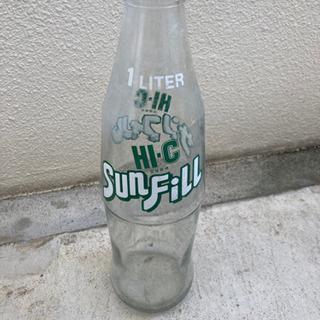 【ネット決済】懐かしい瓶 HI-C サンフィル 1L
