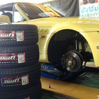 プリウス30のタイヤ交換 4本¥21,000円で出来ました。