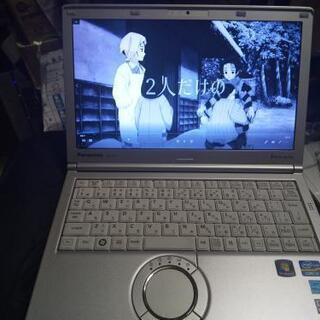 【実用即戦力】PanasonicレッツノートCore i5+新品SSD