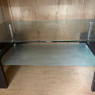 ガラス テーブル 使用感有り