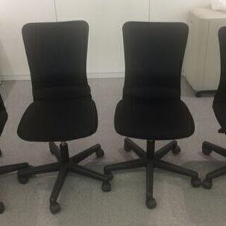 オフィス用 メッシュ椅子 黒色