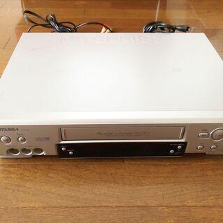 三菱 ビデオデッキとテープ35本