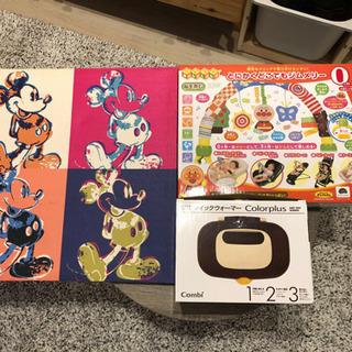 Mickey絵画、アンパンマン遊具(ほぼ未使用)、comb…