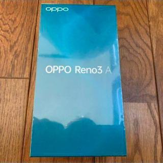 【ネット決済・配送可】OPPO Reno3 A 量販版SIMフリ...