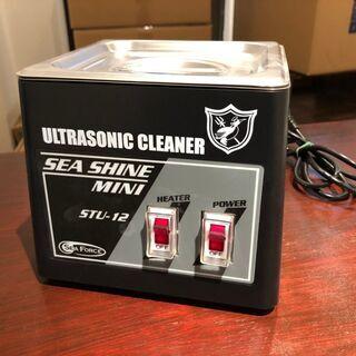 シーフォース S&F 小型 超音波洗浄器 シーシャイン STU-...