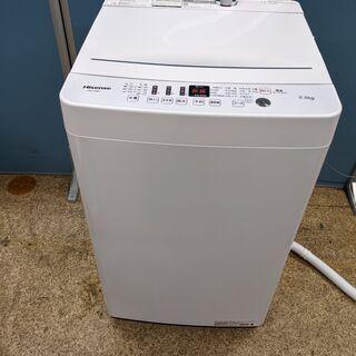 Hisense ハイセンス 全自動電気洗濯機 5.5kg 202...