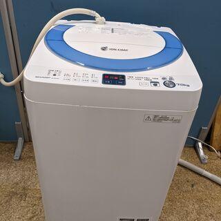 SHARP シャープ 全自動電気洗濯機 7.0kg 2012年製...