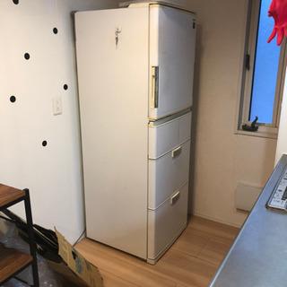 シャープ冷蔵庫差し上げます