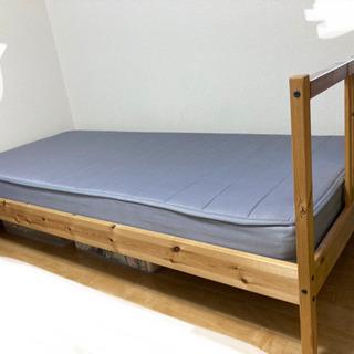 IKEA シングルベッドの画像