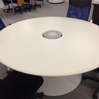 オフィス用 丸テーブル