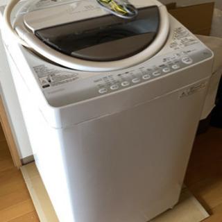 動作確認済み 東芝洗濯機 6kg 2014年製
