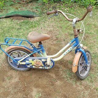 アンパンマン自転車 ジャンク品