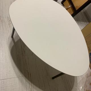 ローテーブル(ホワイト)やや小さめ