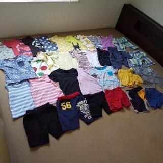 (取引中)男の子の服34着まとめ売り(非対面受け取り可能)